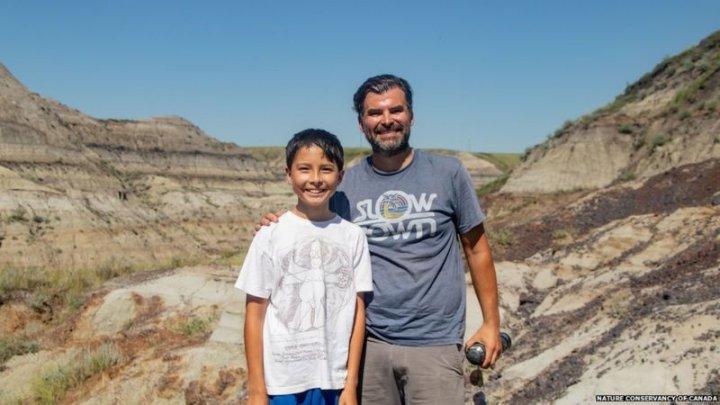 Descoperirea uluitoare, veche de 69 de milioane de ani, făcută de un băiat de 12 ani