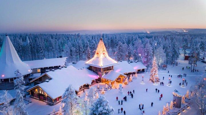 """""""Casa lui Moș Crăciun"""" din Laponia, grav afectată de pandemie"""