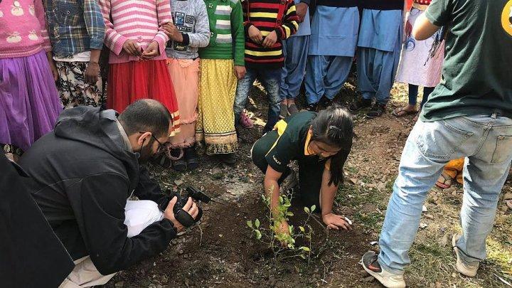 O fetiță de 9 ani a convins mii de oameni din întreaga lume să planteze 240.000 de copaci, de ziua ei