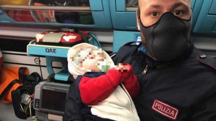 Doi români și-au abandonat bebelușul de 4 luni pe stradă, noaptea, la Verona. Zeci de italieni vor să-l ia acasă