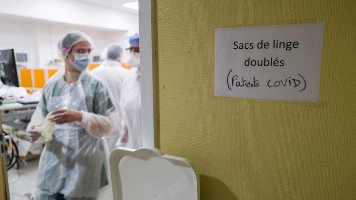 Franța a înregistrat un nou record zilnic, iar bilanțul total a depășit 1 milion de cazuri