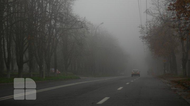 AVERTIZARE meteorologică! A fost emis COD GALBEN DE CEAŢĂ pe întreg teritoriul țării