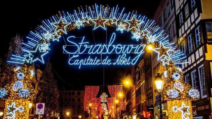 Celebrul târg de Crăciun din Strasbourg, anulat în acest an din cauza pandemiei