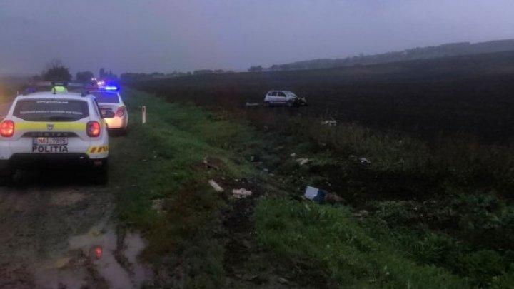 Accident grav pe șoseaua Hîncești-Cimișlia. Un bărbat a fost transportat la spital (FOTO)