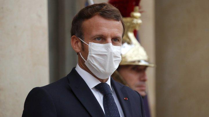Produsele franţuzeşti, boicotate în ţări musulmane, după remarcile lui Macron despre caricaturile cu Mahomed