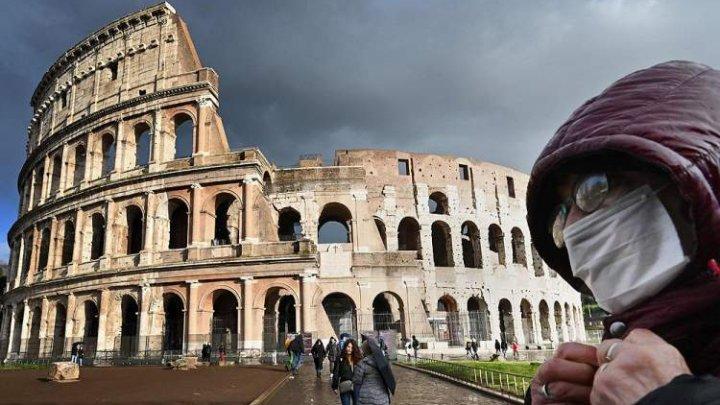 Italia: Purtarea măştii de protecție în aer liber devine obligatorie. A fost extinsă starea de urgență