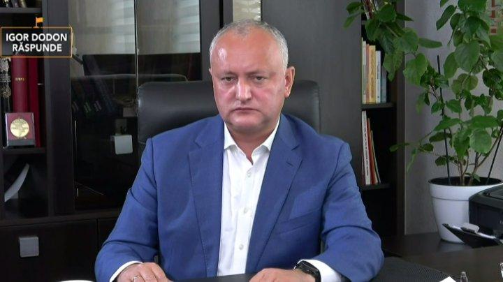 Igor Dodon, despre relațiile cu România și Ucraina: Chiar dacă nu au fost vizite oficiale nu înseamnă că relațiile sunt proaste