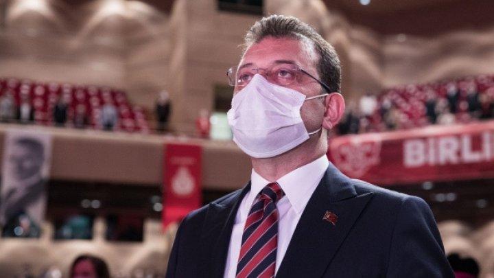 Primarul din Istanbul a fost testat pozitiv la COVID-19