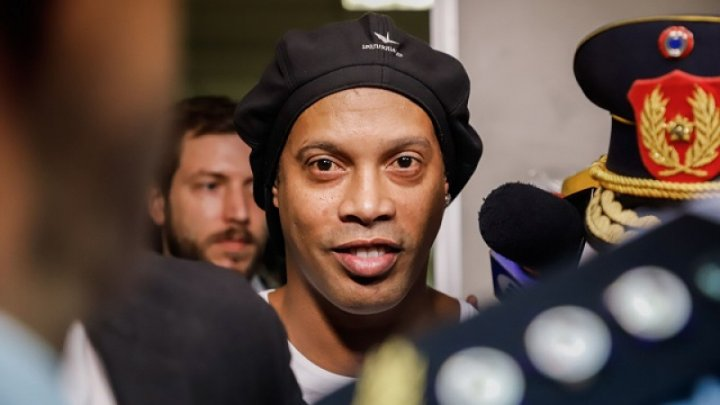 Ronaldinho a fost depistat cu Covid-19. Cum se simte acesta