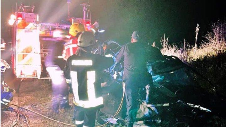 Noi detalii despre tragicul accident din raionul Orhei, care a luat viața a trei oameni (IMAGINI de GROAZĂ)