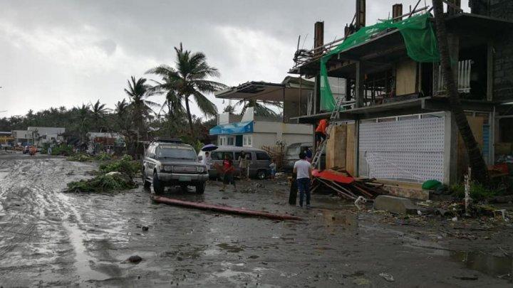 Circa 9.000 de persoane din Filipine, nevoite să îşi părăsească casele din cauza taifunului Molave