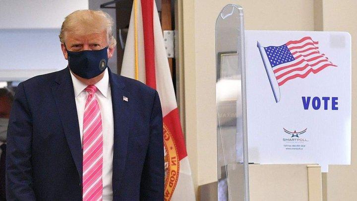 Preşedintele american Donald Trump a votat anticipat, cu zece zile înainte de alegerile prezidenţiale din SUA
