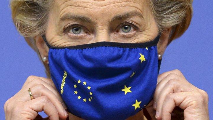 Șefa Comisiei Europene, din nou în izolare, după ce un membru al cabinetului său a fost depistat pozitiv