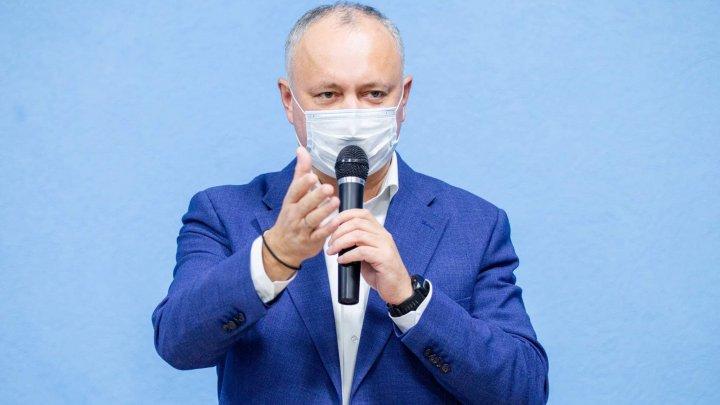 Igor Dodon revine la conducerea PSRM după încheierea mandatului de preşedinte