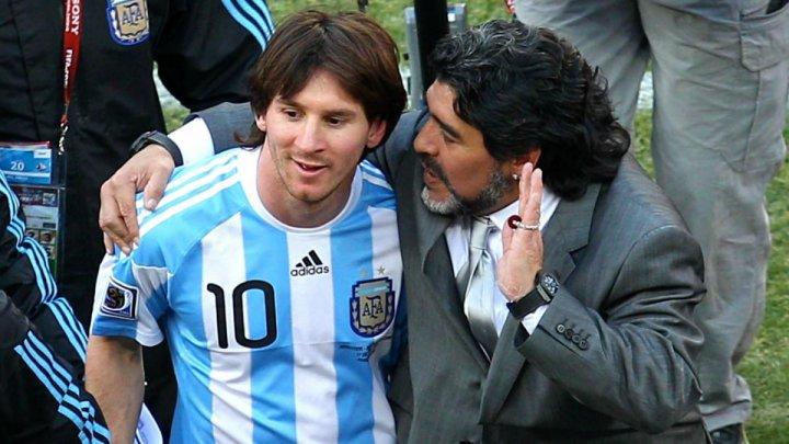 """Messi, despre Maradona: """"Diego este etern"""". Mesajele emoționante ale lui Pele şi Ronaldo după decesul marelui fotbalist"""