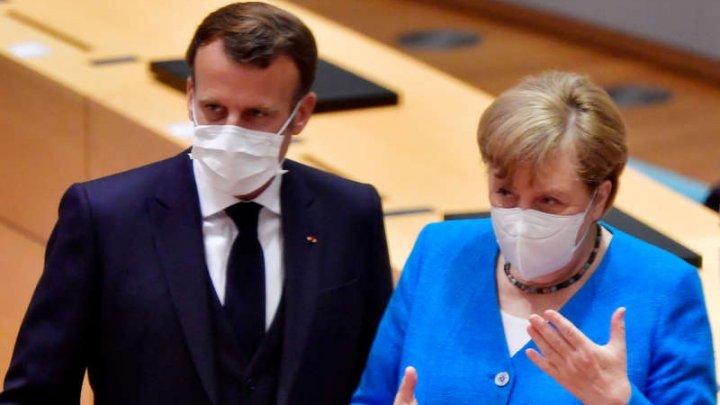 Emmanuel Macron şi Angela Merkel cer statelor G20 să contribuie financiar la vaccinarea împotriva COVID-19 în ţările sărace