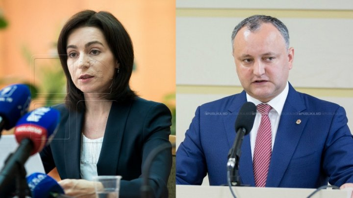 Maia Sandu a câştigat în raionul de baştină al lui Igor Dodon, iar Dodon - în raionul Maiei Sandu