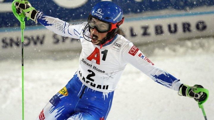 Vlhova, de neoprit în noul sezon. Sportiva a obținut a patra victorie consecutivă la Cupa Mondială de schi alpin