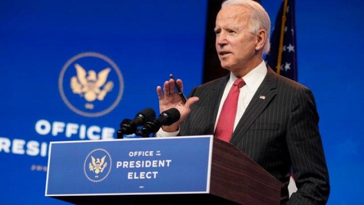 """Joe Biden spune că nu va impune carantină naţională pentru că """"Ar fi contraproductiv"""""""