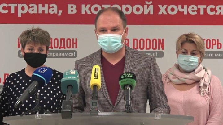 Ceban, din nou în concediu pentru Dodon. Edilul va face campanie în favoarea lui şi în turul doi