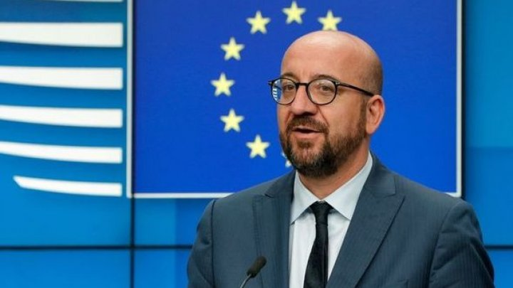 Președintele Consiliului European se întâlneşte azi cu Maia Sandu