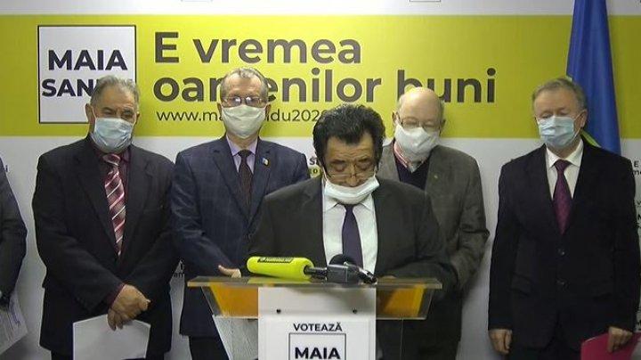 """Deputați din primul Parlament: """"Țineți minte trei cuvine - Maia Sandu președinte"""""""