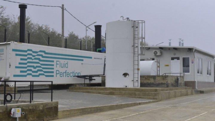 Stația de tratare a levigatului format din deșeurile menajere solide, de la poligonul de la Țînțăreni, pusă în funcțiune