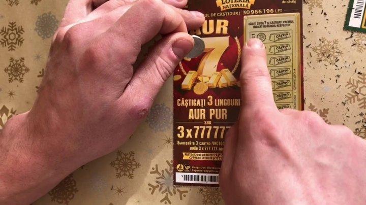 LOTERIA NAŢIONALĂ SCHIMBĂ VIEŢI: Serghei Schiba de la Bălți a câştigat 777.777 lei
