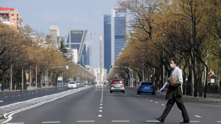 Autoritățile din Madrid anunță un lockdown de zece zile