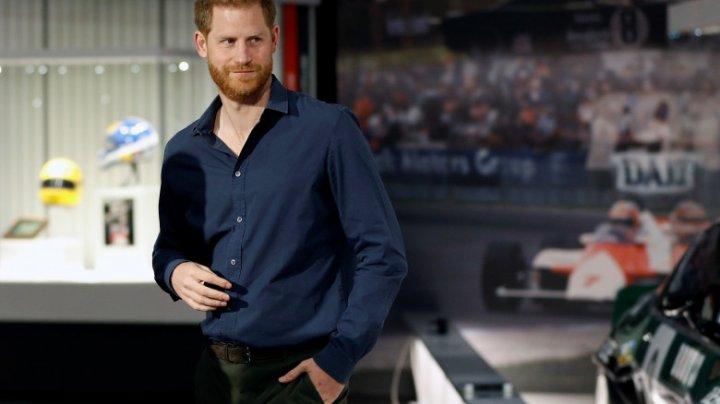 Prințul Harry, desemnat cel mai sexy membru al unei familii regale