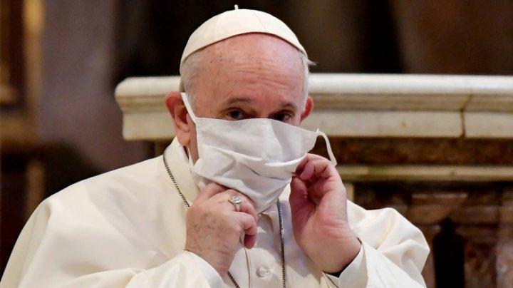 Ce crede Papa Francisc despre cei care refuză să poarte mască