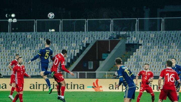 Naționala de fotbal a Republicii Moldova a încheiat cu înfrângere parcursul în Liga Națiunilor
