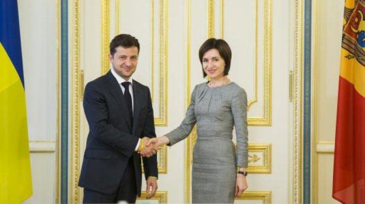 Președintele Ucrainei i-a adresat un mesaj Maiei Sandu în limba engleză