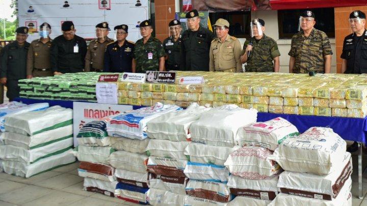 Thailanda a anunțat că a găsit ketamină de 1 miliard de dolari, însă drogurile s-au dovedit a fi aditivi alimentari