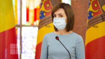 Maia Sandu a anunțat ce salariu primește în calitate de șef de stat