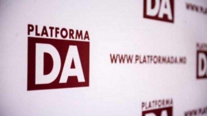 """Platforma DA, după anunţul de demisie a Guvernului Chicu: """"Reiterăm opțiunea pentru alegeri parlamentare anticipate"""""""