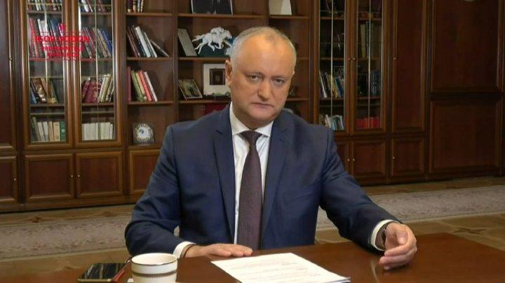 Igor Dodon, despre redobândirea cetățeniei lui Traian Băsescu: Cred că este o greșeală