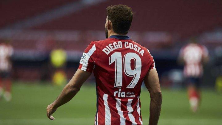 Diego Costa părăsește gruparea spaniolă Atletico Madrid