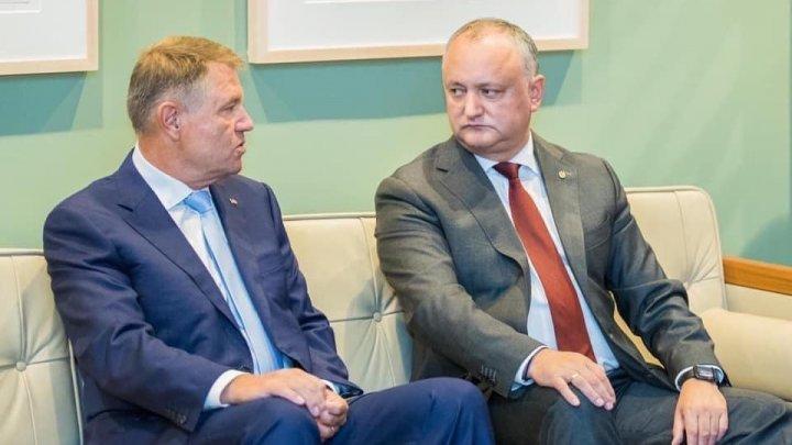 Igor Dodon, despre vizita lui Iohannis la Chișinău: Eu tot l-am invitat, dar a refuzat