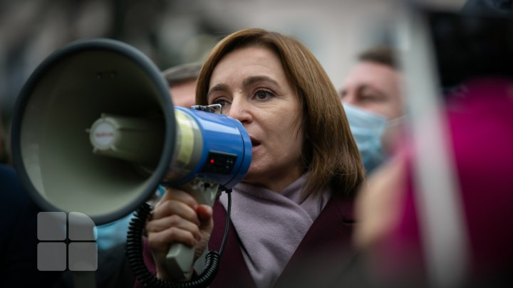 Protest în fața Parlamentului (FOTOREPORT)