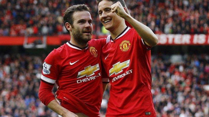 Foștii coechipieri spanioli, Juan Mata și Ander Herrera, vor juca unul împotriva altuia