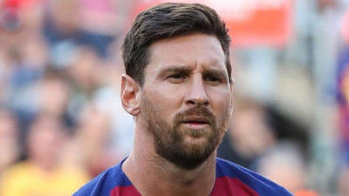 Messi, amendat pentru omagiul adus lui Maradona