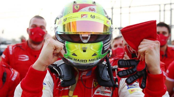 Mick Schumacher a devenit campion mondial