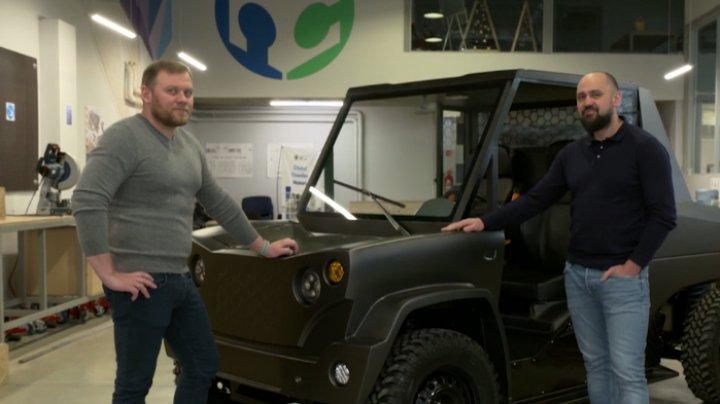Doi ingineri moldoveni au creat prima mașină electrică din țară (VIDEO)