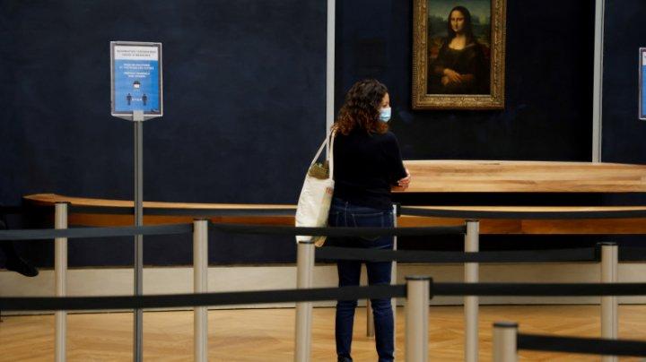 """O persoană a plătit 80.000 de euro pentru a putea admira de unul singur celebrul tablou """"Mona Lisa"""""""