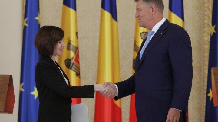 Klaus Iohannis și alți șase președinți din UE au semnat o declarație comună de susținere a Maiei Sandu