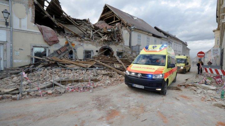 Alte două seisme puternice s-au produs miercuri dimineaţă în Croaţia