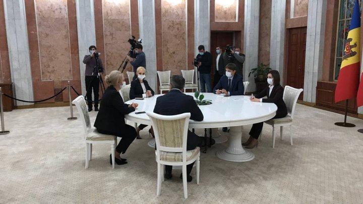 """Partidul Pentru Moldova după consultările cu Maia Sandu: """"Da, noi suntem gata şi suntem pregătiţi pentru alegeri anticipate"""""""