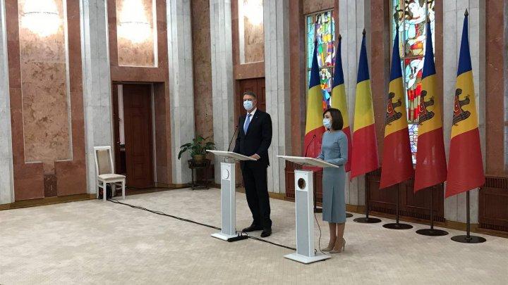 LIVE. Declaraţiile Maiei Sandu şi a lui Klaus Iohannis, după întrevederea de la Preşedinţie