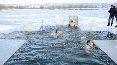 În Rusia, tradiţiile de Bobotează au fost anulate din cauza gerului